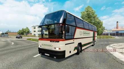 Bus traffic v1.9 for Euro Truck Simulator 2