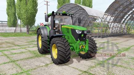 John Deere 6155R v1.0.0.2 for Farming Simulator 2017