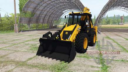 JCB 4CX ECO v1.1 for Farming Simulator 2017