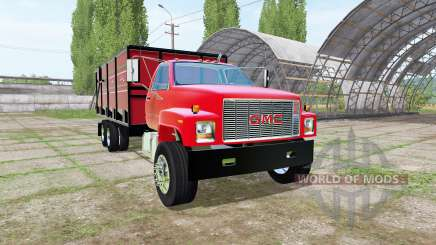 GMC C7500 dump truck for Farming Simulator 2017