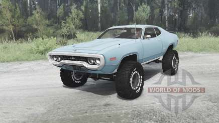Plymouth GTX 1971 (GR2-RS23) off-road for MudRunner