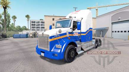 Skin ATM on the truck Kenworth T800 for American Truck Simulator