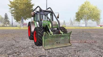 Fendt 209 S forest v1.32 for Farming Simulator 2013