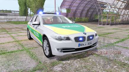 BMW 530d Touring (F11) polizei bayern for Farming Simulator 2017