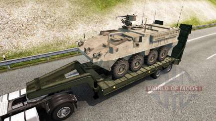 Military cargo pack v2.2.1 for Euro Truck Simulator 2