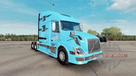 Skin TFX International for the truck Volvo VNL 780 for American Truck Simulator