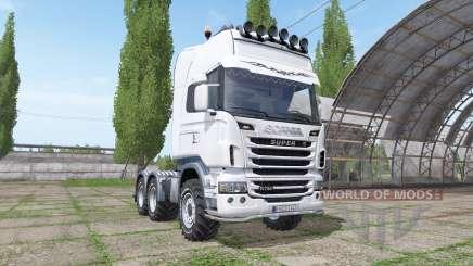 Scania R730 v1.0.2 for Farming Simulator 2017