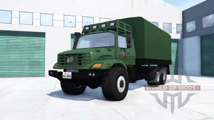 Mercedes-Benz Zetros 2733 A chinese army for BeamNG Drive