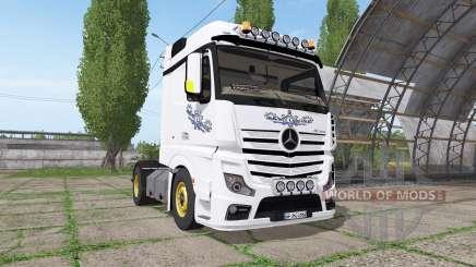 Mercedes-Benz Actros LS (MP4) for Farming Simulator 2017