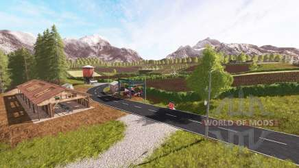 High mountains for Farming Simulator 2017