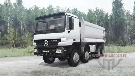 Mercedes-Benz Actros 4141 (MP2) for MudRunner