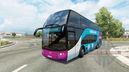 Bus traffic v1.8.2 for Euro Truck Simulator 2