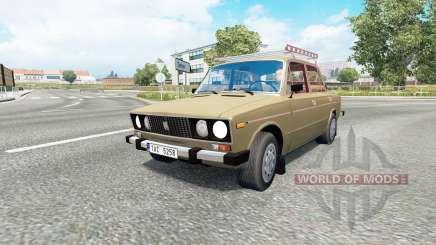 Russian traffic pack v1.7.1 for Euro Truck Simulator 2