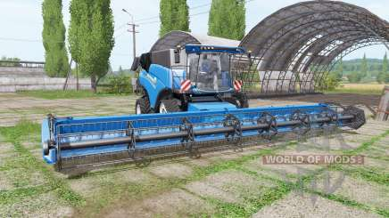 New Holland CR10.90 RowTrac blue for Farming Simulator 2017