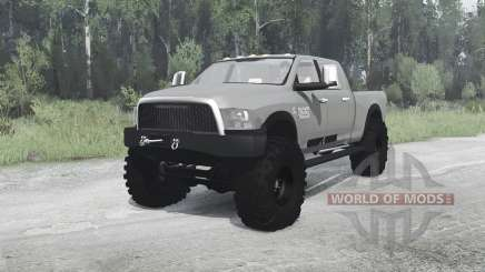 Dodge Ram 3500 Crew Cab 2013 for MudRunner