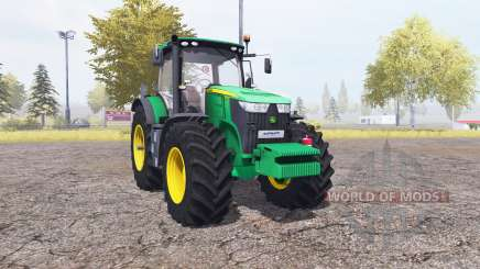 John Deere 7280R v2.0 for Farming Simulator 2013