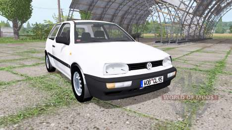 Volkswagen Golf (Typ 1H) 1995 v2.0 for Farming Simulator 2017