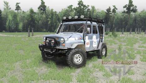 UAZ 31514 on-site trofi for Spin Tires