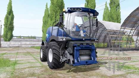 New Holland FR850 blue power for Farming Simulator 2017