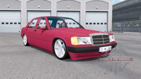 Mercedes-Benz 190 E (W201) for American Truck Simulator