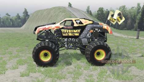 Maximum Destruction Bigfoot for Spin Tires
