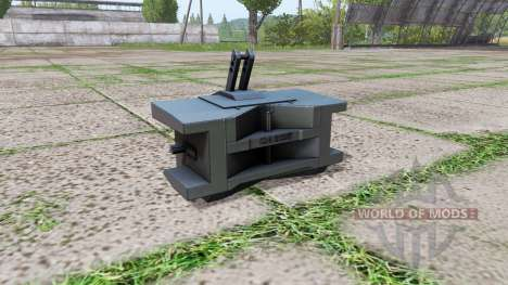 Case IH weight for Farming Simulator 2017