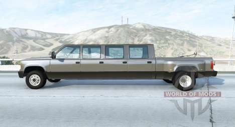 Gavril D-Series Mega Cab v1.1 for BeamNG Drive