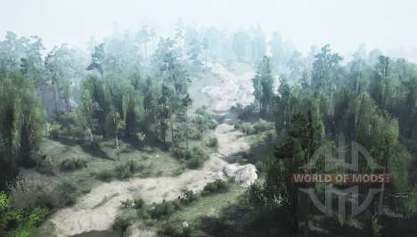 Country trail v1.1 for Spintires MudRunner