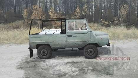 LuAZ 969M for Spintires MudRunner