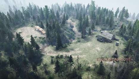 Mountain trail for Spintires MudRunner