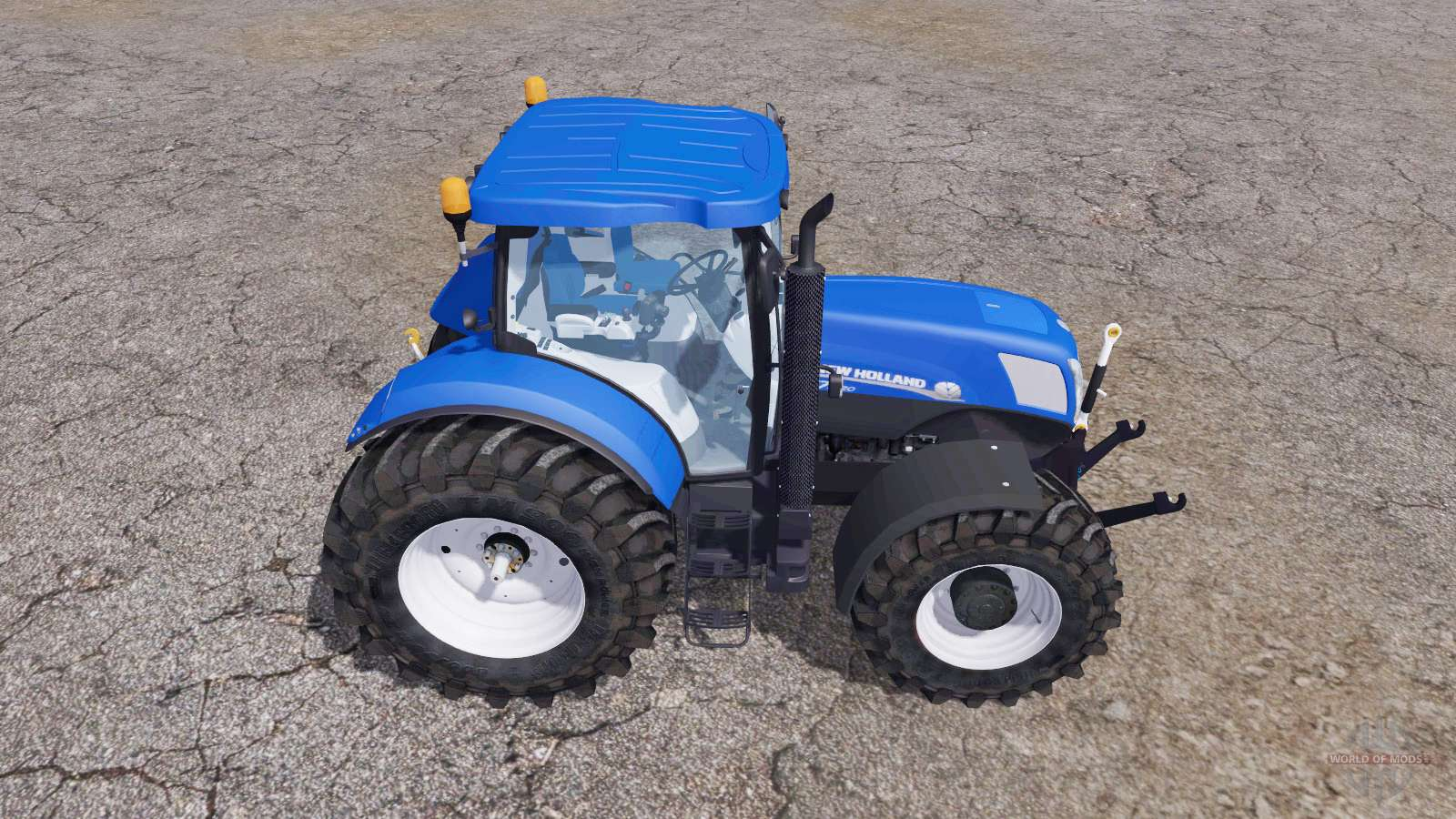 New holland blue power for farming simulator 2013 for New holland 72 85