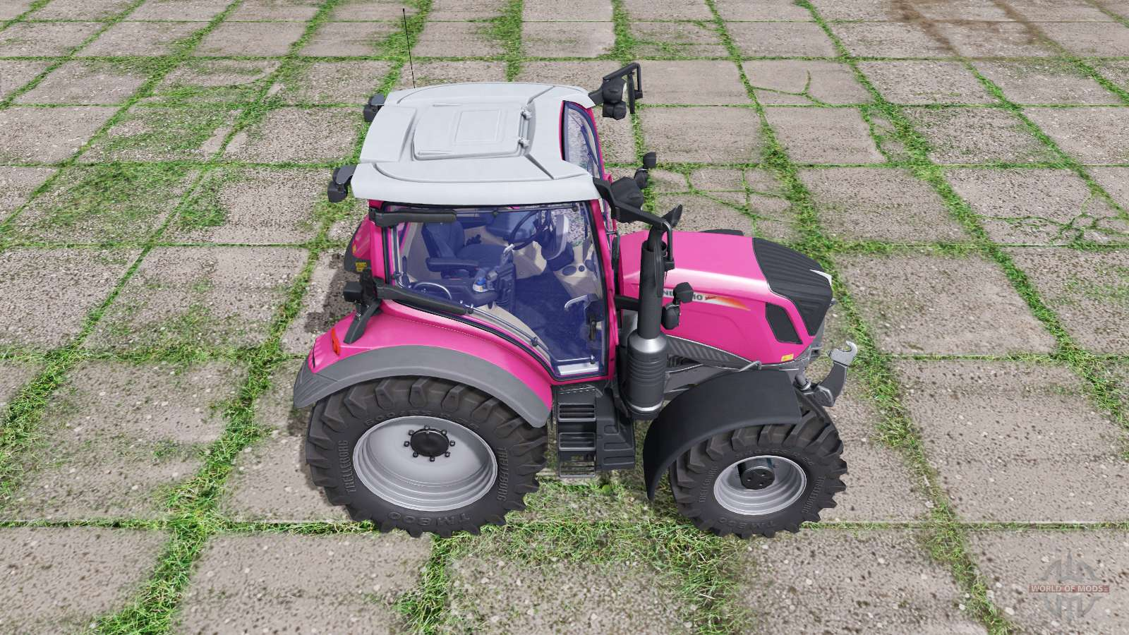 Pink Power Wheels Tractor : Fendt vario pink for farming simulator