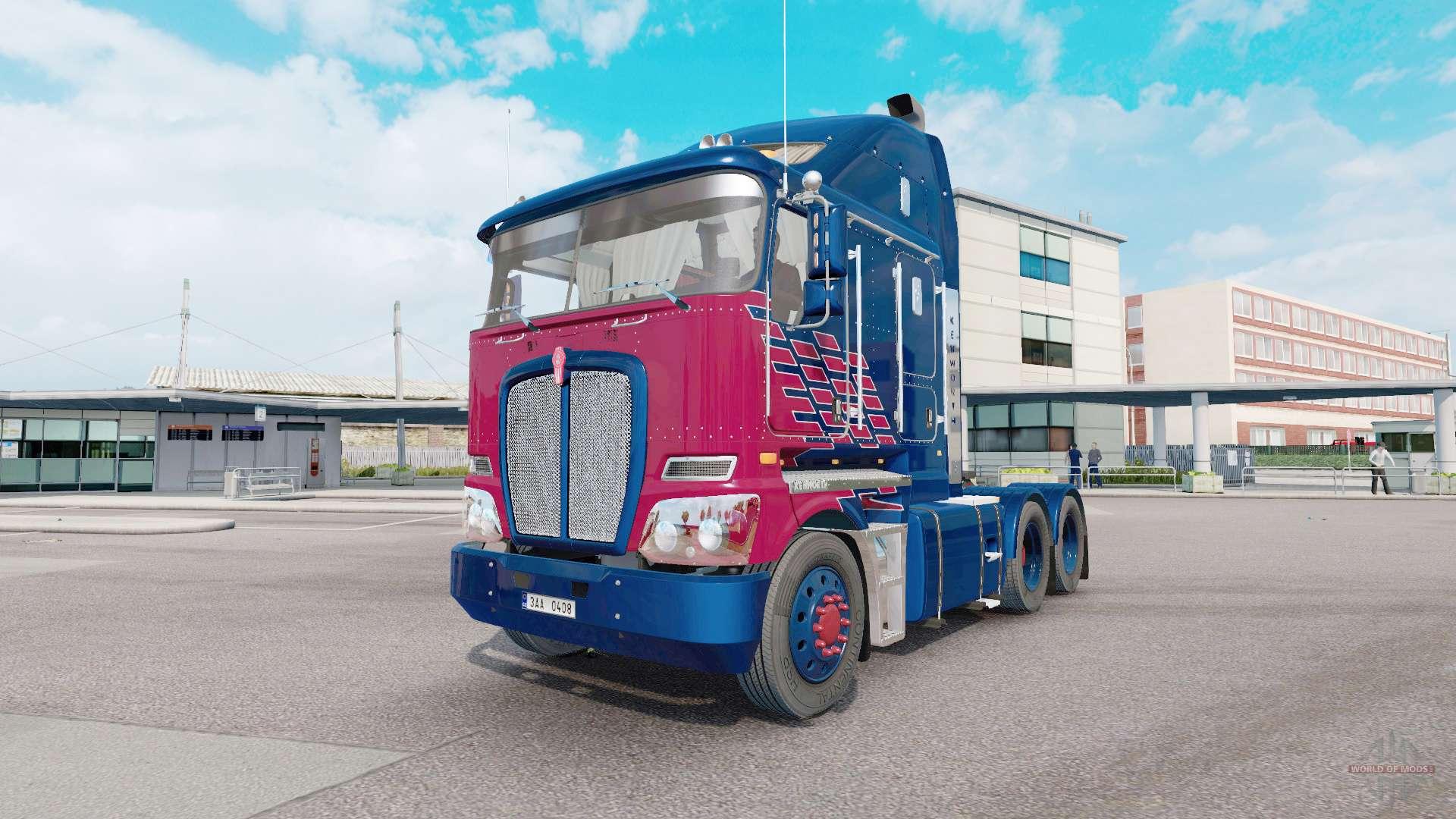 Kenworth K200 V1 1 For Euro Truck Simulator 2