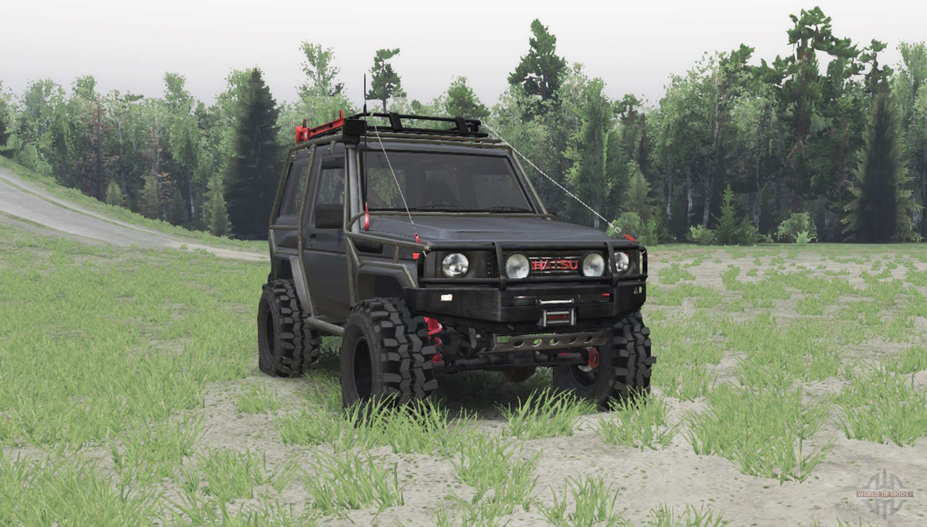 Daihatsu Taft Gt For Spin Tires