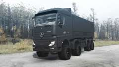 Mercedes-Benz Actros (MP4) chassis 8x8