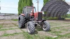 Belarusian MTZ 82 v3.3 for Farming Simulator 2017