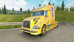 Volvo VNL 780 v3.0 for Euro Truck Simulator 2