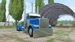 Peterbilt 388 Day Cab v2.0 for Farming Simulator 2017