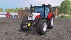 Steyr Profi 4130 front loader for Farming Simulator 2015