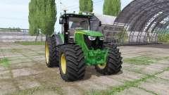 John Deere 6175R v2.1 for Farming Simulator 2017
