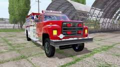 Ford F-700 fire truck for Farming Simulator 2017