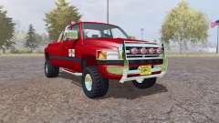 Dodge Ram 3500 Club Cab mobile tank