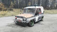 UAZ 3151 cramps for MudRunner