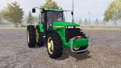 John Deere 8400 v4.0 for Farming Simulator 2013