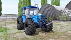 Hurlimann H-488 big wheels for Farming Simulator 2017