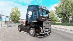 Skin Punisher for the truck Volvo FH-series for Euro Truck Simulator 2