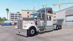 Skin Master Gray on the truck Kenworth W900