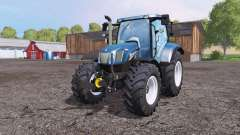 New Holland T6.160 front loader for Farming Simulator 2015