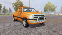 Dodge Ram 3500 Club Cab wrecker for Farming Simulator 2013