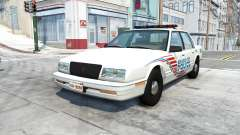 Bruckell LeGran belasco city police for BeamNG Drive